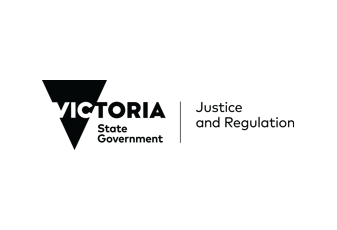 Department of Justice and Regulation - logo