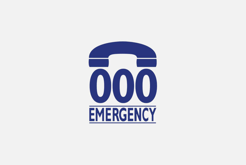 emergency number 000